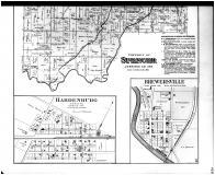 Spencer Township, Brewersville, Hardenburg, Six Mile P.O., Buena Vista - Below, Jennings County 1884
